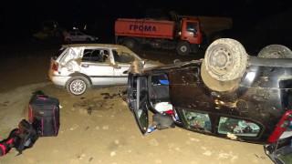 Катастрофа край Благоевград прати трима в болница
