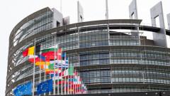 И ДБ с акция пред парламента в Брюксел