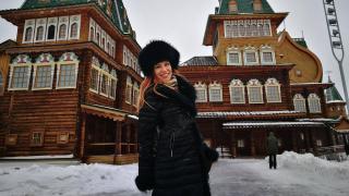 Нелина на обиколка в Москва (СНИМКИ)