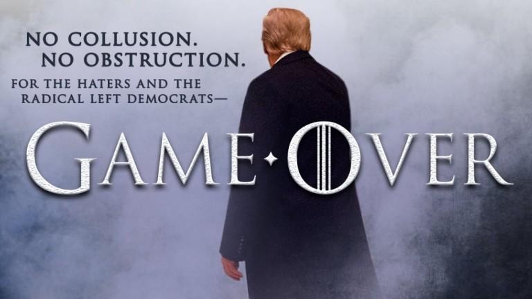 Снимка: Тръмп за разследването: Game Over