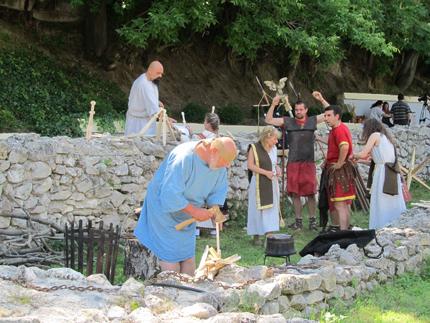 Възстановка на римски пазар организираха в Русе