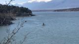 Откриха тяло на мъж в река Скът