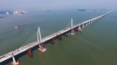 Най-дългият мост в света вече е тук. И той има стомана като за 60 Айфелови кули (СНИМКИ И ВИДЕО)