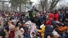 13 000 мигранти по турско-гръцката граница