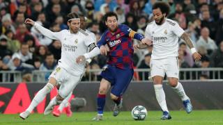 Меси изпревари Шави по брой участия в дербито с Реал (Мадрид)
