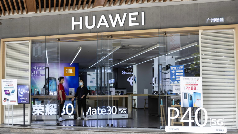 Huawei очаква до 30% спад на продажбите в България