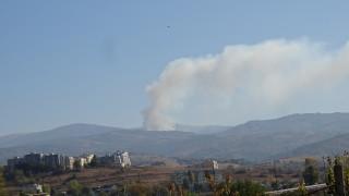 Голям пожар гори в Рила