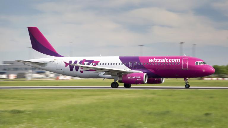 Wizz Air базира 7-ми самолет в София