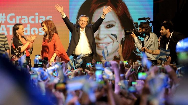 Кандидатът на опозицията Алберто Фернандес е новият президент на Аржентина