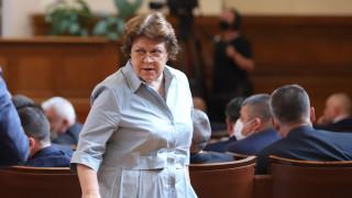 Татяна Дончева не иска да вижда следи към Пеевски в новия кабинет