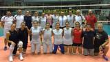 Министър Кралев посети тренировка на женския национален отбор по волейбол