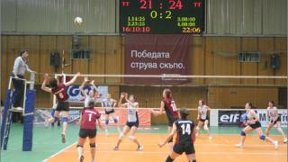 Локомотив на полуфинал за Купата по волейбол