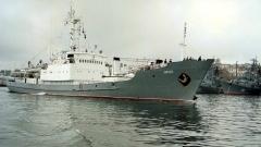 Руски шпионски кораб потъна в Черно море след сблъсък с товарен кораб