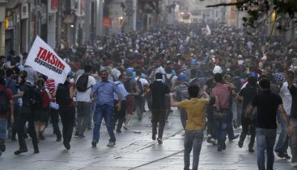 """Протест отново затвори парк """"Гези"""""""