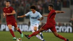 Лацио и Рома не се победиха в дербито на Рим