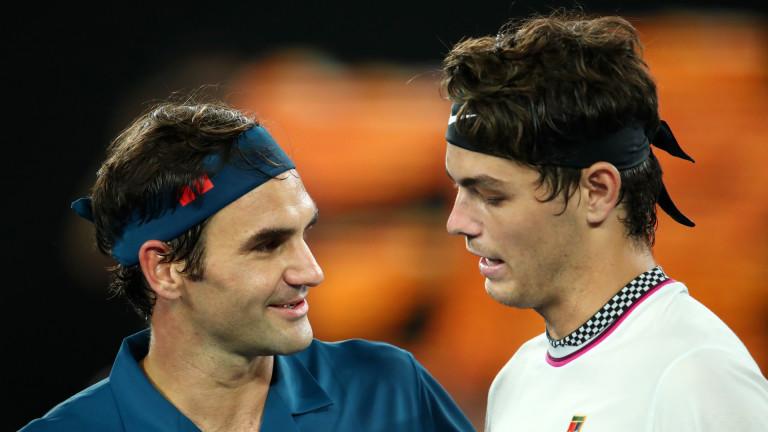 Снимка: Роджър Федерер със 17-а поредна победа на Australian Open