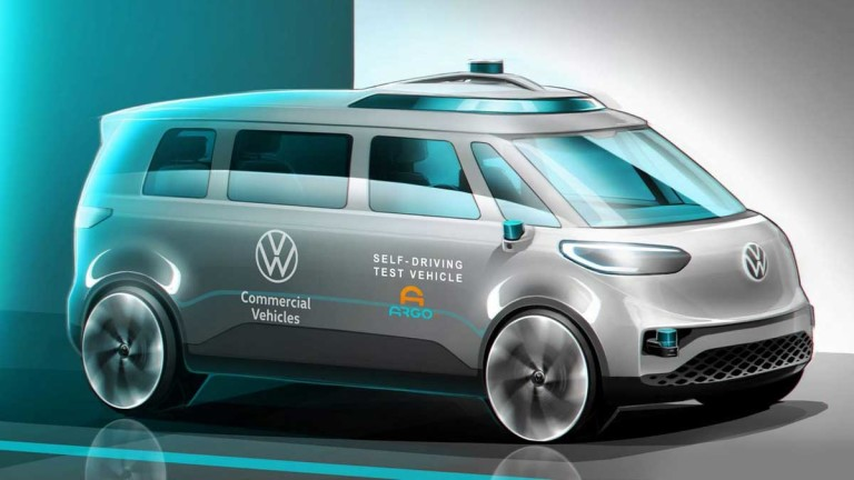 Volkswagen пуска автономен електрически ван до 2025 г.