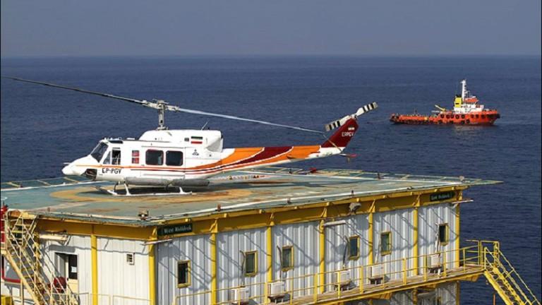В Персийския залив се разби ирански хеликоптер