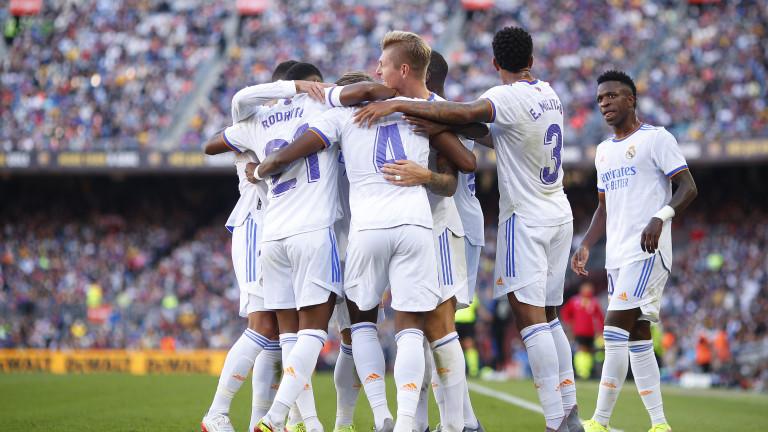 Реал (Мадрид) спечели голямото дербис Барселона.