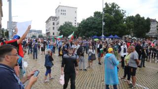 Протестът в София продължава