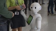 Летище Брюксел с робот помощник за пътниците си