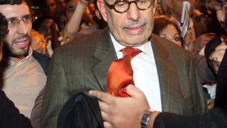 """Опозицията в Египет натовари Барадей да """"свали"""" Мубарак"""