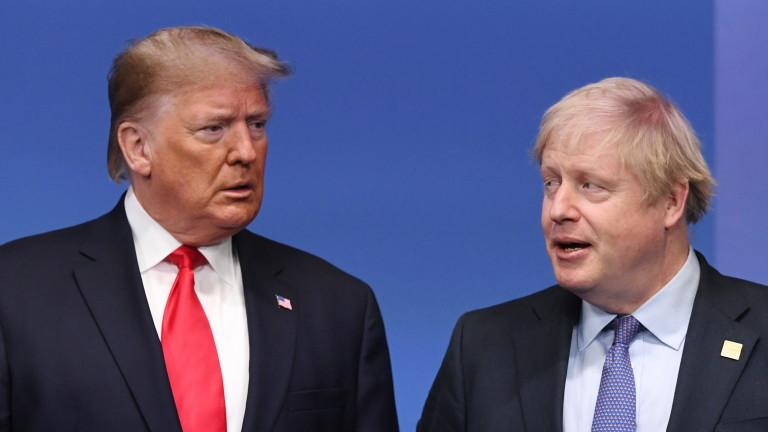 Британското правителство не би подкрепило приемането на Русия като член