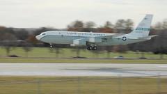 Военен самолет на САЩ прелетя над територията на Русия