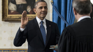 Обама положи клетва за втория си мандат