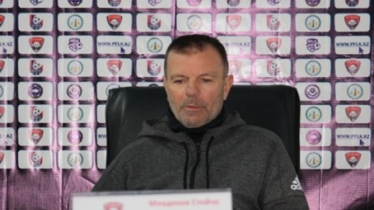 Стойчо Младенов: ЦСКА трябва да е на първо място, второто винаги е неуспех за нас!