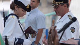 23-ма с офицерски пагони за празника на ВМС