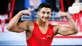 Димитър Димитров на финал на прескок на Европейското в Глазгоу