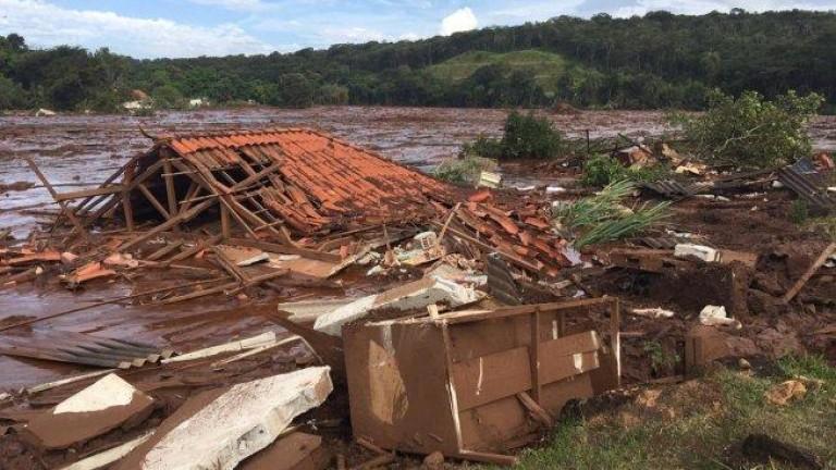 Снимка: 200 души са в неизвестност заради скъсана язовирна стена в Бразилия