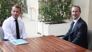 Зукърбърг и Макрон мислят как да се справят с онлайн омразата и екстремизма