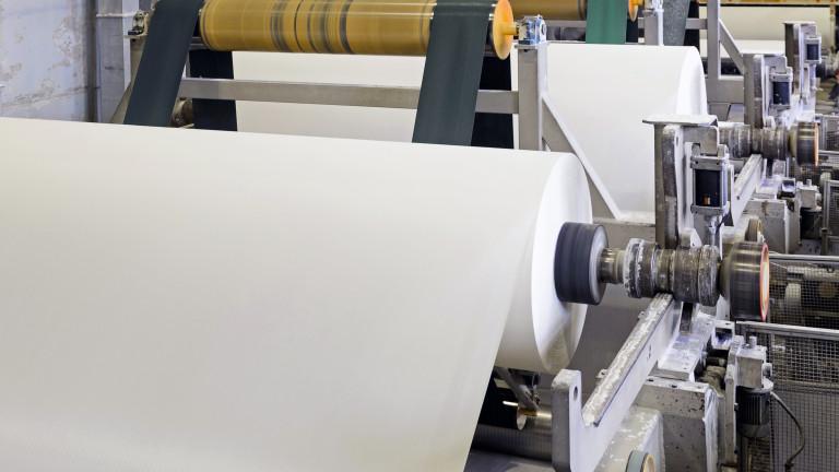 """""""Свилоза"""" се готви сама да произвежда хартия"""