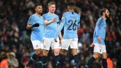 Манчестър Сити се разправи в Бърнли в ФА Къп