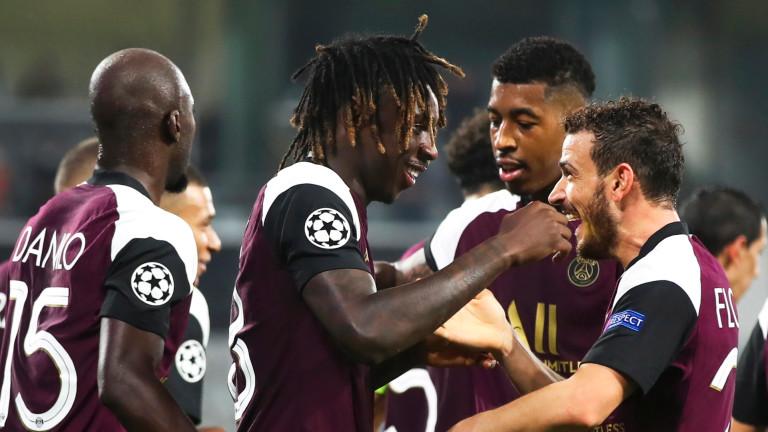 Пари Сен Жермен постигна първата си победа в груповата фаза