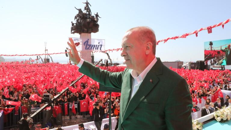 Президентът на Турция Реджеп Тайип Ердоган определи масовата стрелба, при