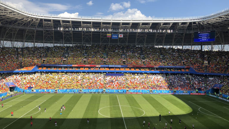 Колумбия 0 : 0 Япония 3′ ДУЗПА!Червен картон.Санчес игра с