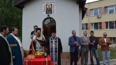 Осветиха болничен параклис в Монтана на името на Св. Иван Рилски
