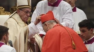 Папа Франциск провъзгласи нови кардинали и осъди расизма