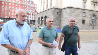 47-ми ден на недоволство в Триъгълника на властта