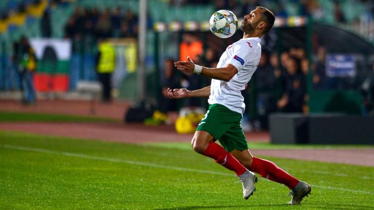 Български национал вече тренира с ЦСКА