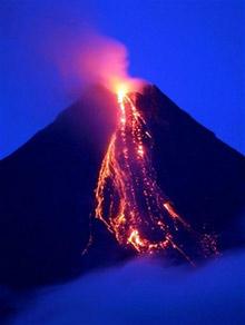 Изригна вулкан на полуостров Камчатка