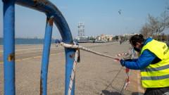 Строга карантина за 5 общини в Северна Гърция