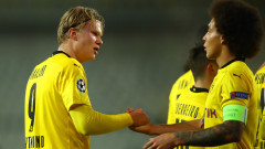 Борусия (Дортмунд) отказа Брюж за едно полувреме
