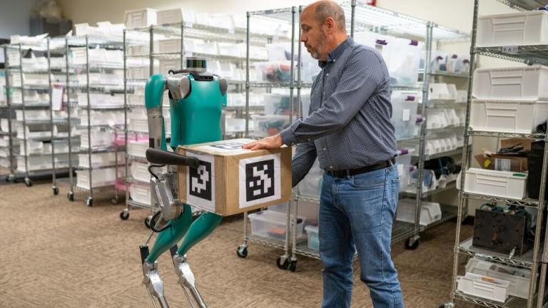 Digit: Роботът, който може да революционизира логистиката