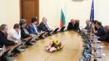 Борисов потвърди пред превозвачите, че ще защитават интересите им