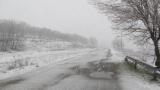 АПИ: В 6 области вали сняг, Превала е затворен за почистване