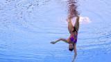 Христина Дамянова е 26-та в синхронното плуване